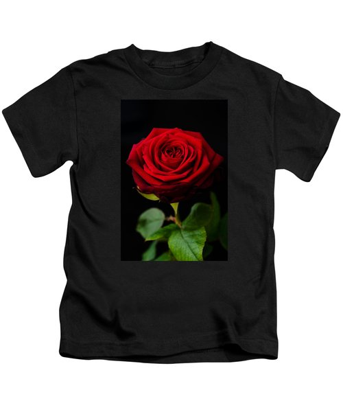 Single Rose Kids T-Shirt