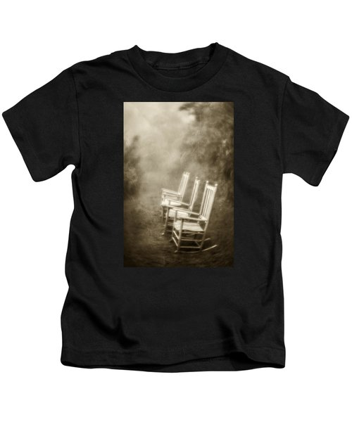 Sit A Spell-sepia Kids T-Shirt