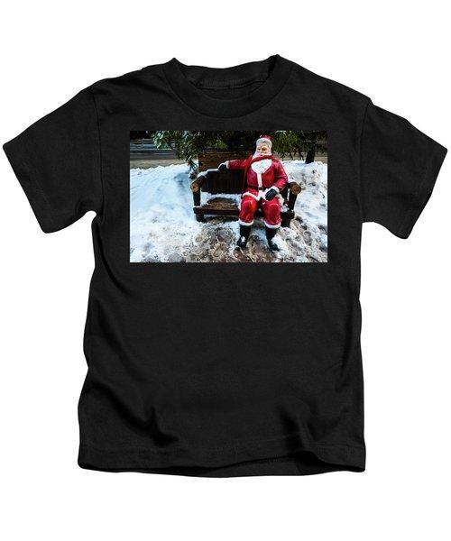 Sit With Santa Kids T-Shirt