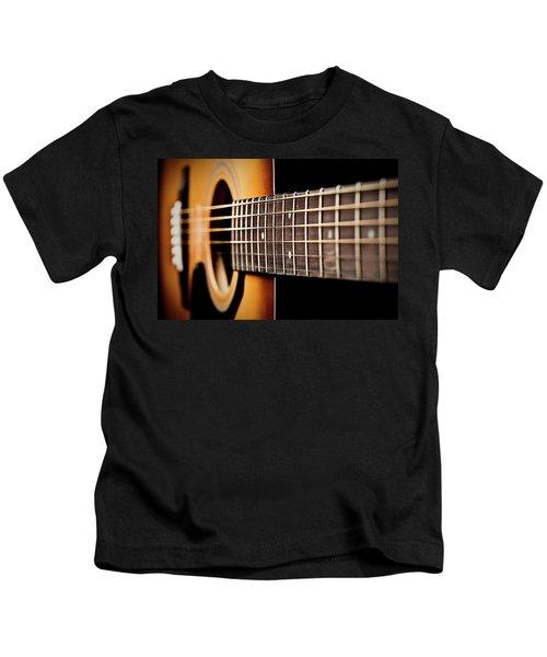 Six String Guitar Kids T-Shirt