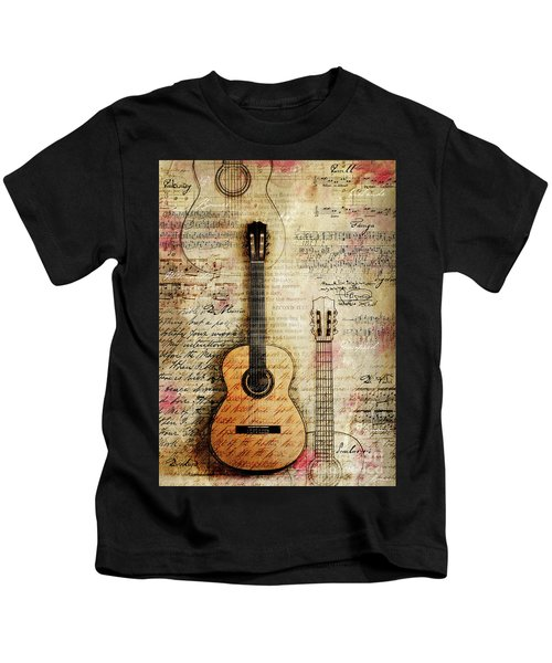 Six String Sages Kids T-Shirt