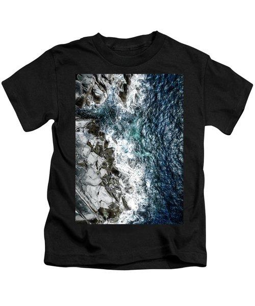 Skagerrak Coastline - Aerial Photography Kids T-Shirt