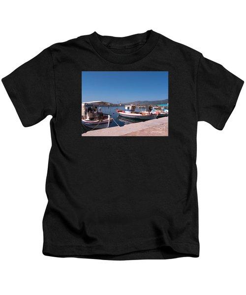 Skala Kalloni Lesvos Kids T-Shirt