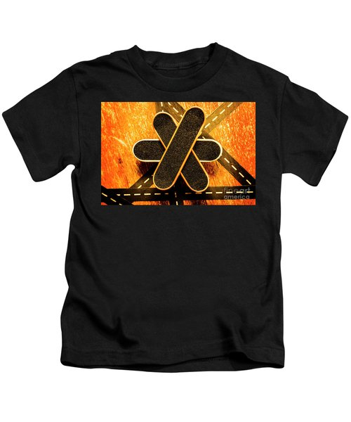 Skateboarding Star Kids T-Shirt