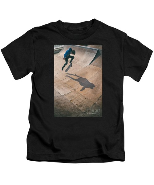 Skater Boy 001 Kids T-Shirt