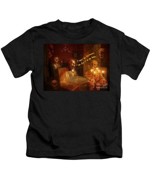Skeleton Card 2016 Kids T-Shirt