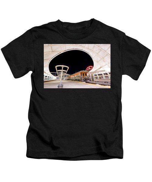 Ski Train Kids T-Shirt