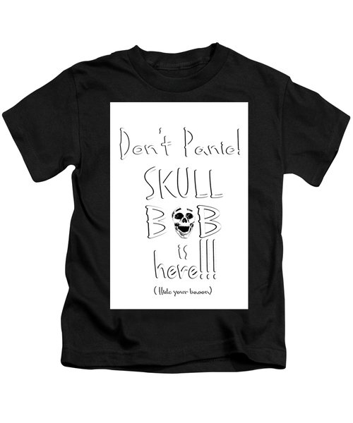 Skull Bob T-shirt Kids T-Shirt