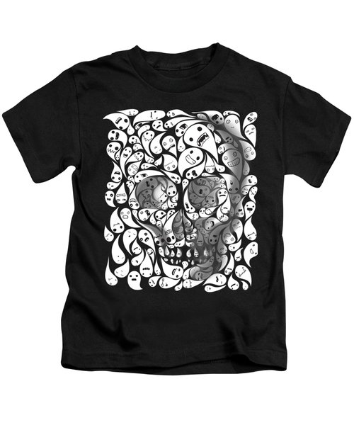 Skull Doodle Kids T-Shirt