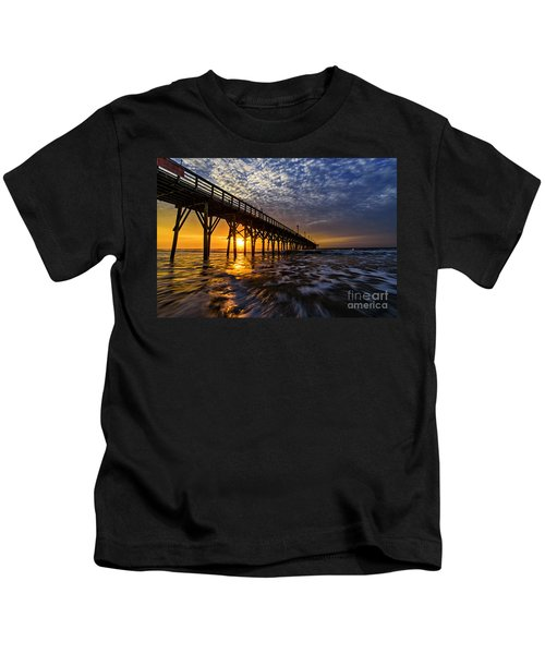 Sky Divided Kids T-Shirt