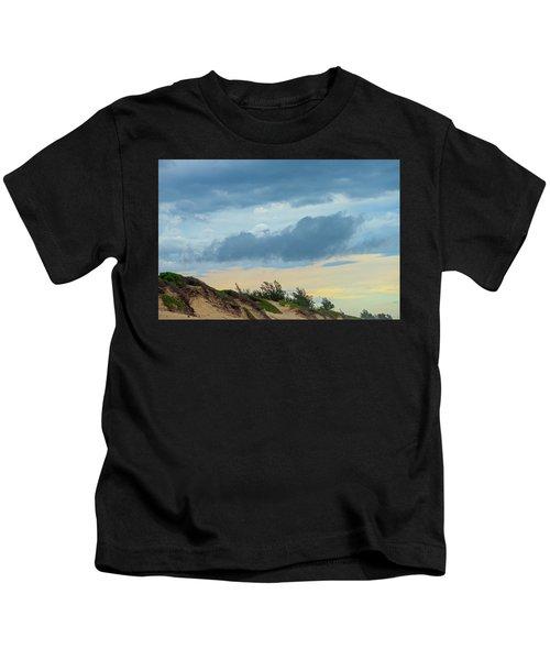 Sky Over Maceneta Beach Mozambique Kids T-Shirt