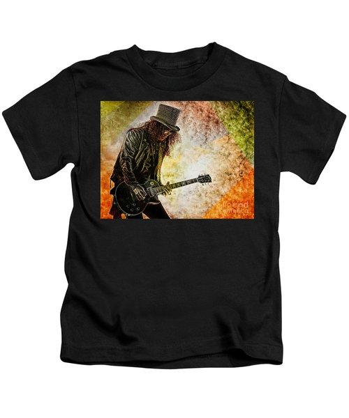 Slash - Guitarist Kids T-Shirt