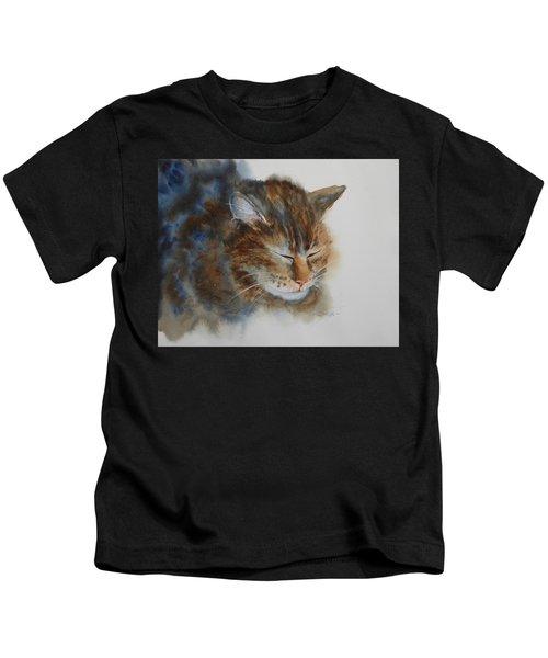 Sleeping Tiger Kids T-Shirt