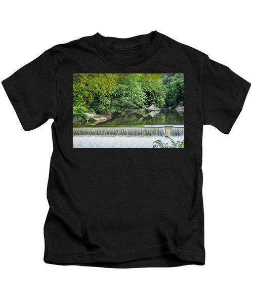 Slipery Rock Gorge - 1888 Kids T-Shirt