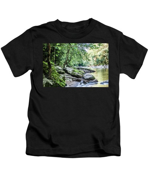 Slippery Rock Gorge - 1912 Kids T-Shirt