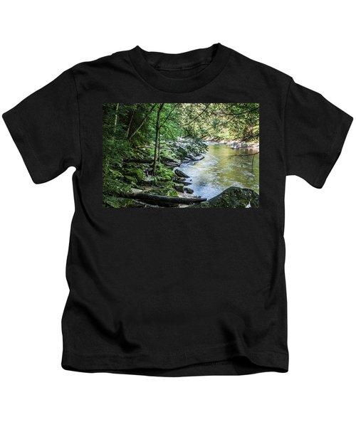 Slippery Rock Gorge - 1934 Kids T-Shirt