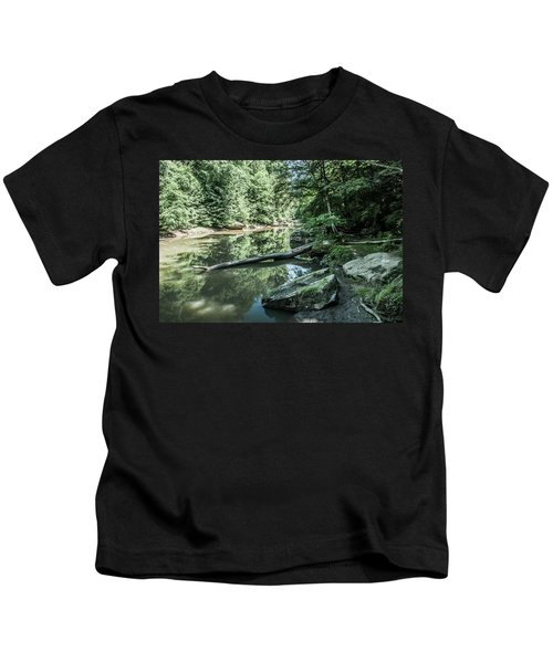 Slippery Rock Gorge - 1944 Kids T-Shirt