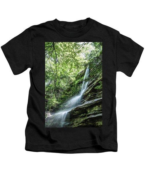 Slippery Rock Gorge - 1957 Kids T-Shirt