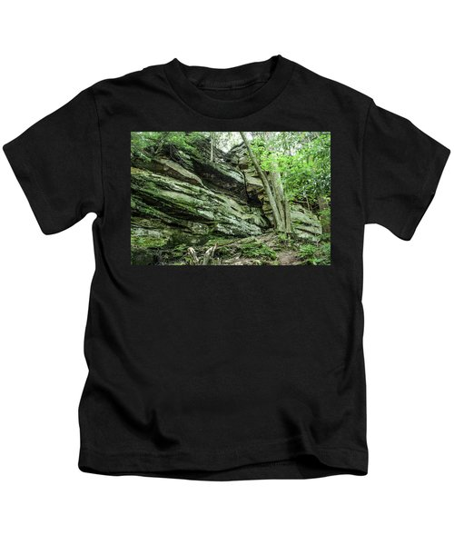 Slippery Rock Gorge - 1958 Kids T-Shirt