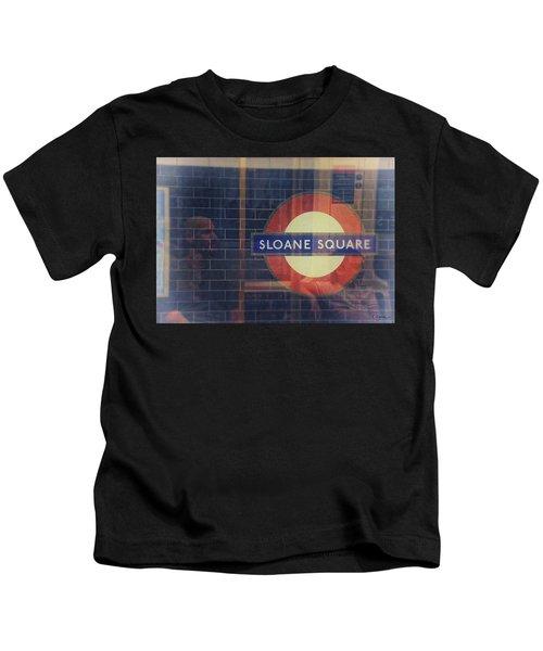 Sloane Square Portrait Kids T-Shirt