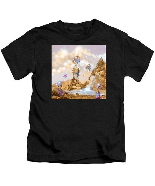 Snail Shell City Kids T-Shirt