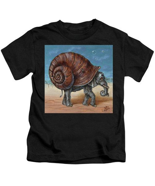 Snailephant Kids T-Shirt