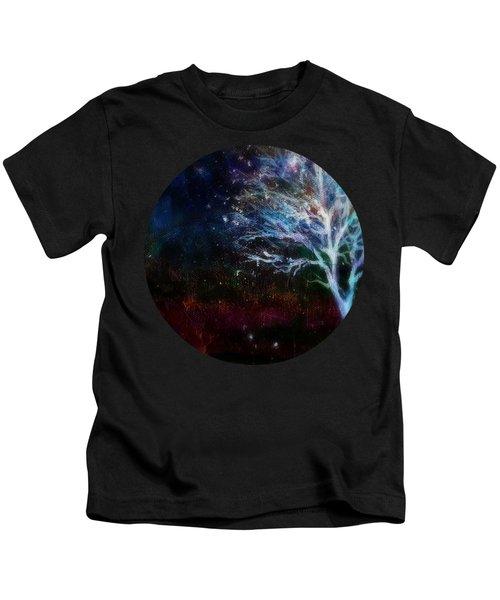 Snow At Twilight Kids T-Shirt