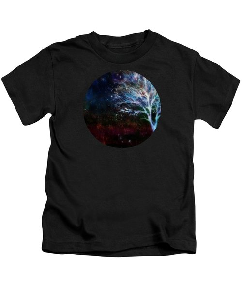 Snow At Twilight Kids T-Shirt