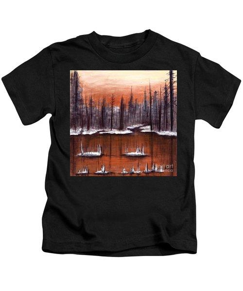 Snow Glow  Kids T-Shirt