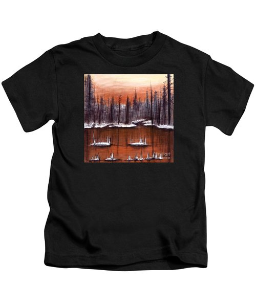 Snow Glow  Kids T-Shirt