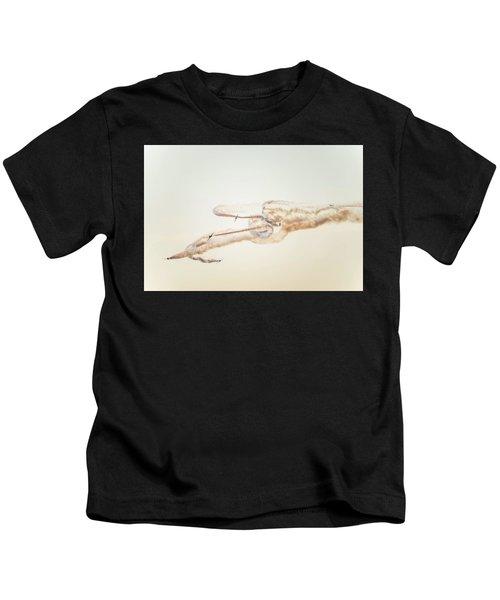 Snowbirds Over English Bay Kids T-Shirt