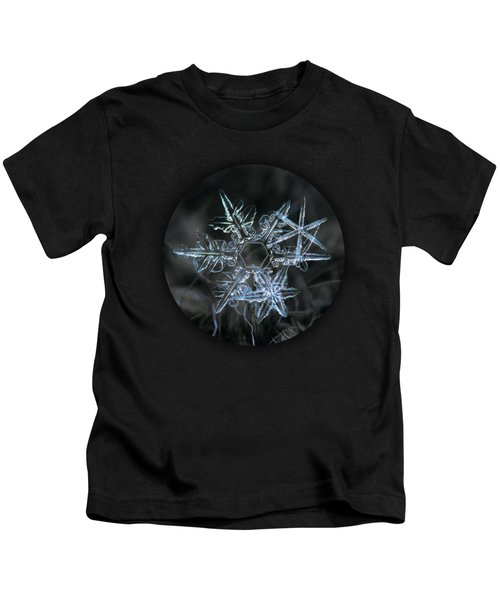 Snowflake Of 19 March 2013 Kids T-Shirt