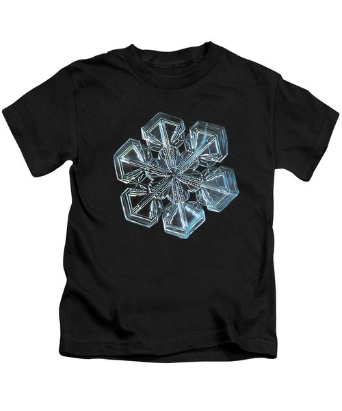 Snowflake Photo - Alcor Kids T-Shirt