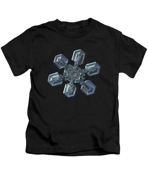 Snowflake Photo - High Voltage II Kids T-Shirt