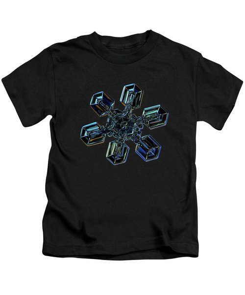 Snowflake Photo - High Voltage IIi Kids T-Shirt
