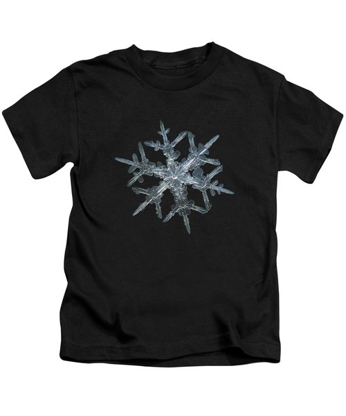 Snowflake Photo - Rigel Kids T-Shirt