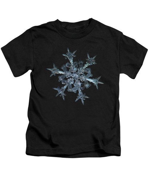 Snowflake Photo - Starlight Kids T-Shirt