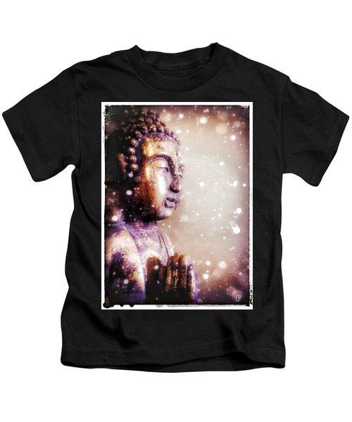 Snowy Buddha Kids T-Shirt