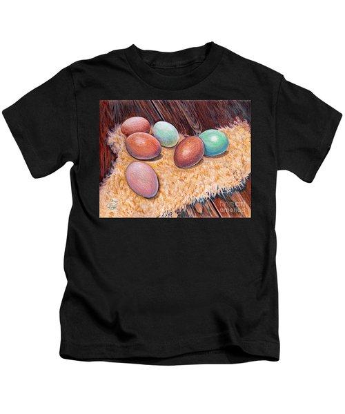 Soft Eggs Kids T-Shirt