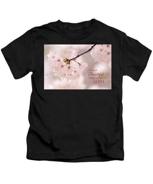 Soft Medley With Message Kids T-Shirt