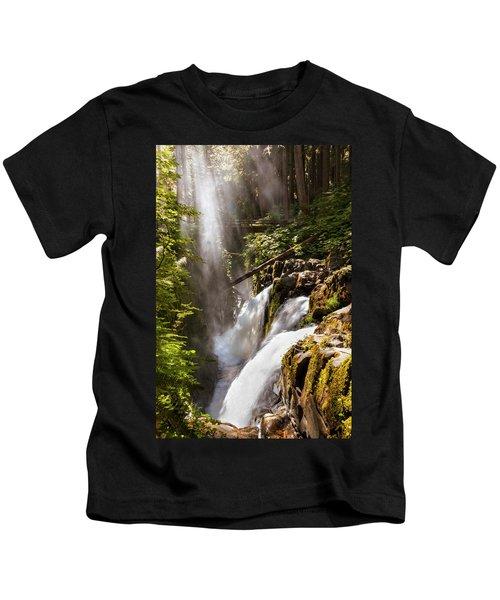 Sol Duc Falls Kids T-Shirt