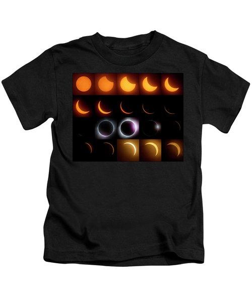 Solar Eclipse - August 21 2017 Kids T-Shirt