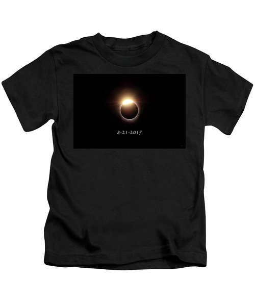 Solar Eclipse Diamond Phase Kids T-Shirt