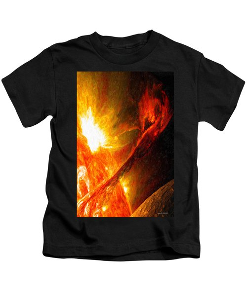 Solar Mass Ejection Kids T-Shirt