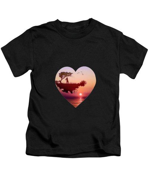 Solitary Sister Kids T-Shirt