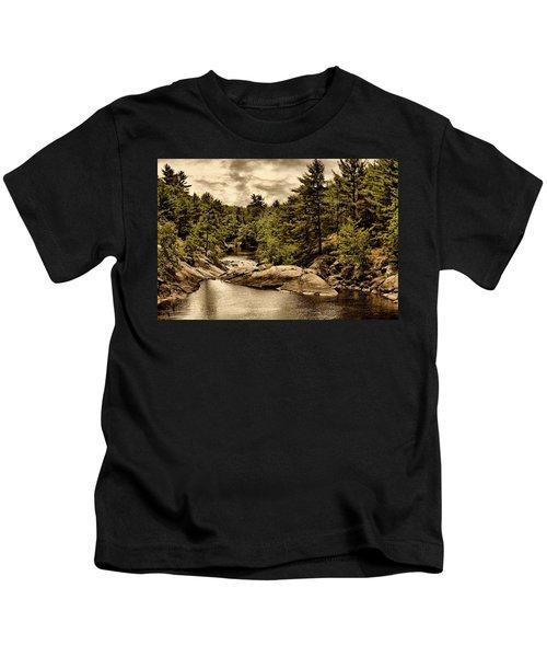 Solitary Wilderness Kids T-Shirt