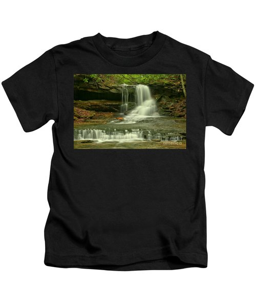 Somerset County Cave Falls Kids T-Shirt