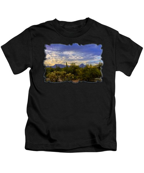 Sonoran Afternoon H07 Kids T-Shirt