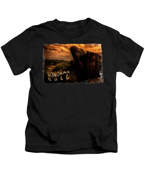 Sonoran Desert Early Morning Kids T-Shirt