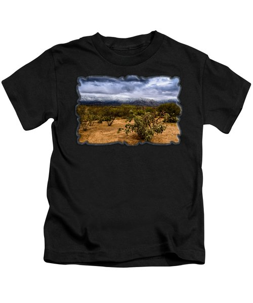 Sonoran Winter H44 Kids T-Shirt
